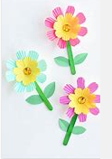 flower-count WEEKLY THEME -Plants - Counting Flowers With Popsicle And Liner